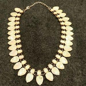 Jewelry - Irridiscent Stone Necklace, new